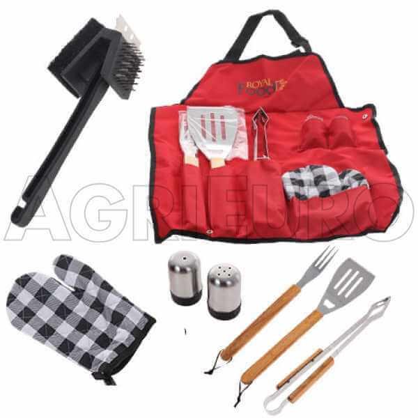 Kit accessori per barbecue