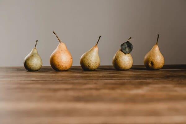 Pera-tipi-di-frutta